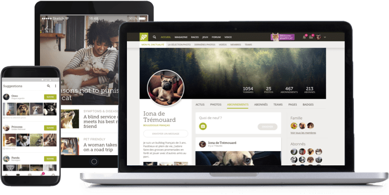 Yummypets, a community of highly engaged pet lovers